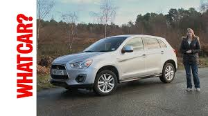 mitsubishi asx mitsubishi asx 2014 video review what car youtube
