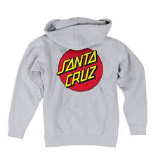 amazon com santa cruz men u0027s classic dot hoodie clothing