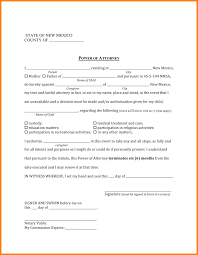 Durable Power Of Attorney Indiana by 8 Power Of Attorney For A Child Form Attorney Letterheads