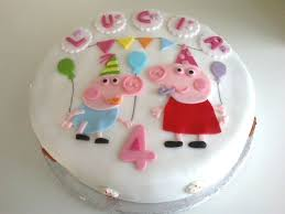George Pig Cake Decorations 141 Best Birthday Peppa U0026 George Pig Images On Pinterest Pig