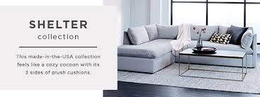 shelter sleeper sofa reviews shelter collection west elm