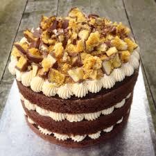 Crunchie Bar Hokey Pokey Layer Cake Crunchie Bar Cake And