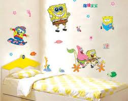 Spongebob Bathroom Decor by Spongebob Home Decor Etsy