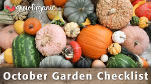 Natural Pesticides For Vegetable Gardens by October Gardening Checklist Things To Do In Your Organic Garden