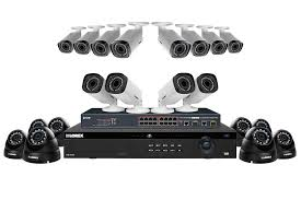 Interior Home Surveillance Cameras by 2k Security System With 8 Color Night Vision Ip Cameras And