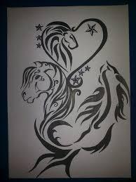 tattoo design lion lion horse and koi fish tattoo design by bogi90