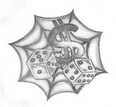 spider web n dice design tattoobite com