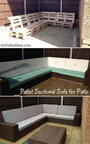Diy Outdoor Sectional Sofa Diy Outdoor Pallet Sectional