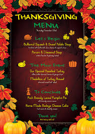menu flyer template flyers psd bundle thanksgiving menu flyer templates