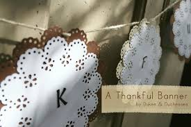 Martha Stewart Craft Paper - a thanksgiving banner martha stewart crafts circle edge punch