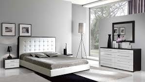 alluring modern queen bedroom sets leon gray modern 5 piece
