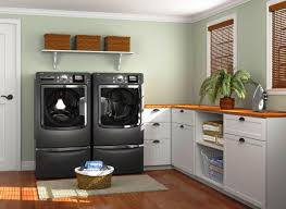 How To Decorate Your Laundry Room Laundry Room Interior Decoration Features