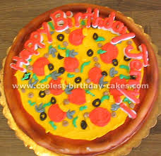 Money Cake Decorations Sweet And Save Money With Pizza Birthday Cake Party Birthday