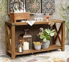 outdoor console tables pottery barn