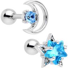 cartilage earrings cartilage ear piercing bodycandy