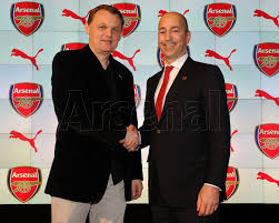 arsenal puma deal puma and arsenal sign reported 5 year 150 million kit sponsorship