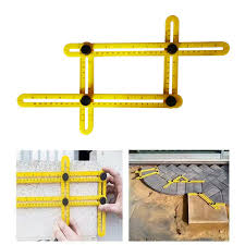professional template tool angle measuring protractor multi angle