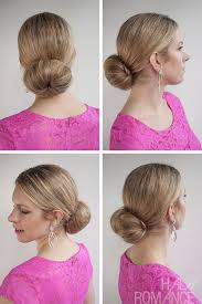 hairstyles with a hair donut 30 buns in 30 days day 6 low sock bun hairstyle hair romance