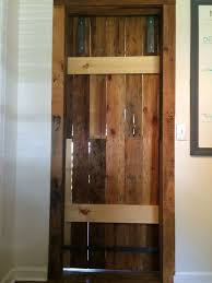 Salvaged Barn Doors by Pallet Sliding Barn Doors 5 Steps