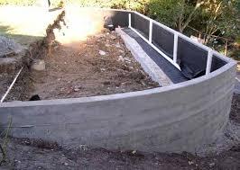 Poured Concrete Retaining Wall Design  Ideas About Concrete - Concrete retaining walls design
