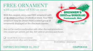 coupon for free in store gift bronner s
