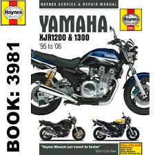 yamaha xjr1200 xjr1300 1995 2006 haynes workshop manual ebay