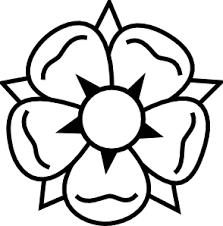 flower tattoo clip art at clker com vector clip art online