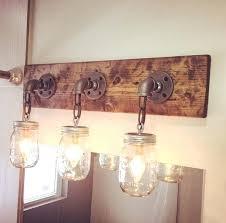 Industrial Bathroom Lights Best Industrial Bathroom Lighting Ideas On Woodbathroom Fixtures