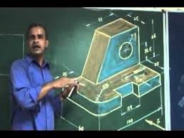 engineering graphics free hand sketching youtube