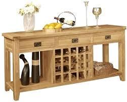 wine rack console table intended for oak wine rack furniture rustic oak wine rack with