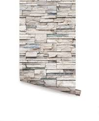 faux stone wallpaper peel and stick stacked stone cultured faux stone wallpaper