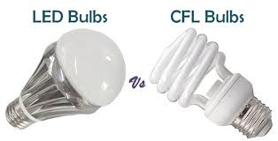 difference between led and cfl bulbs with similarities and