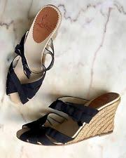 ribbon wedges christian louboutin espadrille women s shoes ebay
