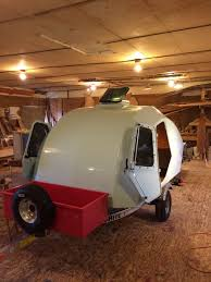 dream home tour sheldon kerr u0027s diy teardrop trailer
