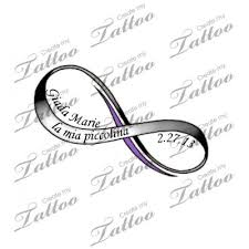 italian words with infinity symbol tattoo design tattoo ideas