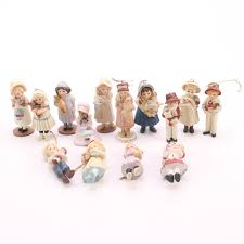 collection of jan hagara porcelain figurines and ornaments ebth