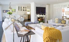 a redesigned historic house in east hampton with a modern and