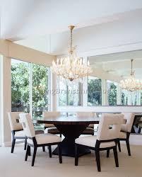 dining room crystal chandelier modern crystal chandeliers for dining room 2 best dining room