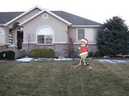 grinch christmas lights click to view larger image house christmas decor
