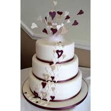 wedding cake steps wedding cake 009 5 kgs 2 steps