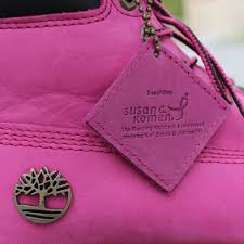 womens pink timberland boots sale susan g komen and timberland team up for breast cancer awareness