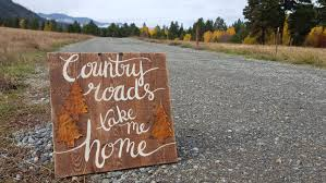 country roads sign rustic wood signs farmhouse sign farmhouse