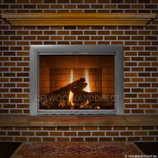 design specialties glass doors premier view masonry fireplace glass door woodlanddirect com