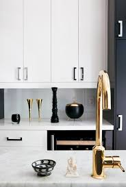 Polished Brass Kitchen Faucet Modern Kitchen Design Brass Faucets And Accents Euro Style Home