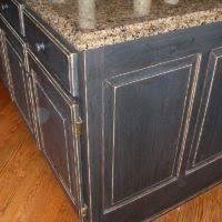 distressed black kitchen island u shape kitchen decoration solid brown wood kitchen