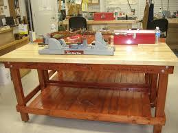 bench work bench height garage workbench height making a fine