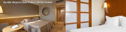 hotels near seville airport san pablo svq in sevilla sp