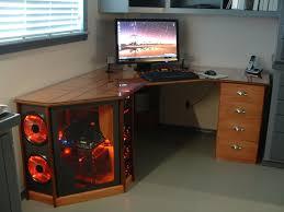 My Custom Computer Desk Custom Computer Desk by Desk Computer Built Into Desk Amazing Computer Built Into Desk