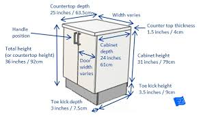average depth of kitchen cabinets kitchen cabinet widths standard drawer dimensions remarkable base