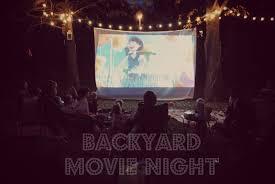backyard movie night decorations home outdoor decoration